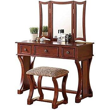 Amazon Com Furniture Of America Matilda Chippendale Style