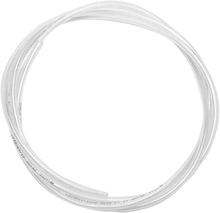 Gorgeri PVC 180cm 4mm Voiture Crystal Clear Pare-Brise Rondelle Tuyau Fen/être Rondelle Jet Tube Pare-Brise