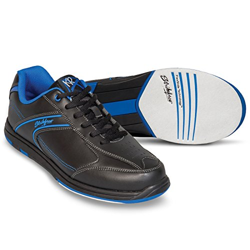 KR Strikeforce M-032-105 Flyer Bowling Shoes, Black/Mag Blue, Size 10.5