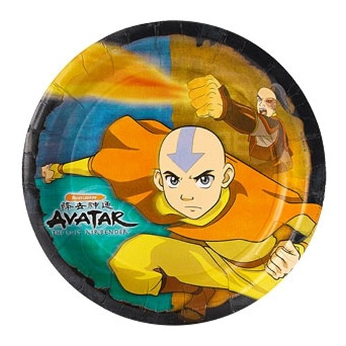 Avatar the Last Airbender Small Paper Plates (8ct)