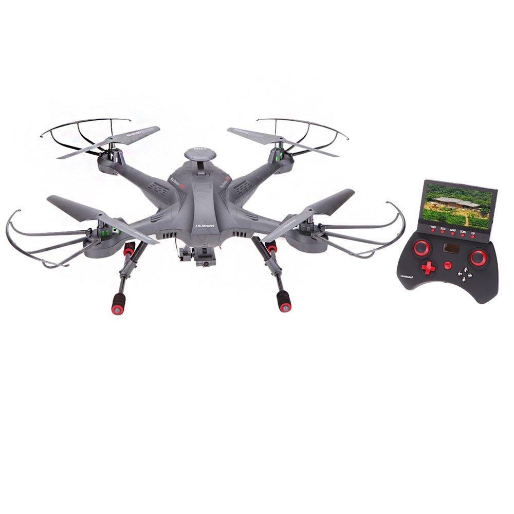 Goolsky Hunter Drone FPV 2.4G 4CH giroscopio de 6 ejes en tiempo real Modo sin cabeza RC FPV Quadcopter