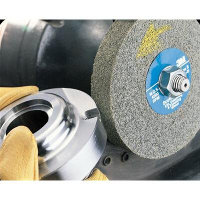 Scotch-Brite EXL Deburring Wheels - 3m s/b 8x1x3 9sfin048011-05135