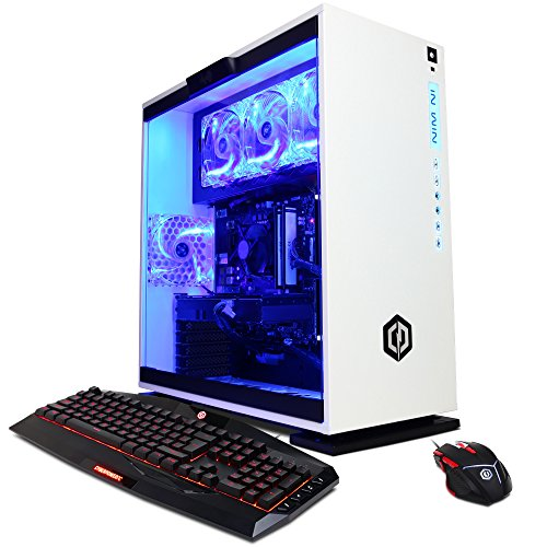 Cyberpowerpc Gamer Xtreme Gxi10200a Desktop Gaming Pc  Intel I7 7700 3 6Ghz  Nvidia Gtx 1060 6Gb  16Gb Ddr4 Ram  1Tb 7200Rpm Hdd  120Gb Ssd  Win 10 Home   White