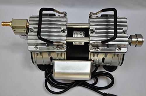 Twin Piston Oilless oilfree Vacuum Pump 4CFM for Medical Dental Sciece Lab Workshop +Milker