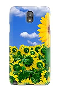Galaxy Note 3 Case Cover - Slim Fit Tpu Protector Shock Absorbent Case (sunshine To Brighten Your Day)