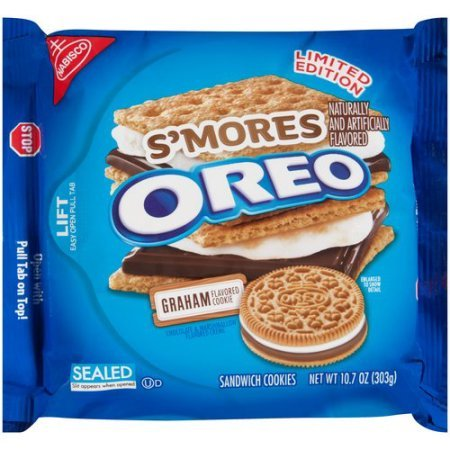 S'Mores Oreo Sandwich Cookies 10.7 oz (Pack of 3)