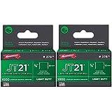 2-Pack Arrow Fastener Genuine JT21/T27 3/8-Inch Staples