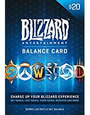$20 Battle.net Store Gift Card Balance - Blizzard Entertainment [Online Game Code]