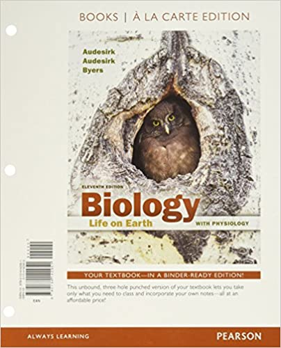 Biology Life On Earth With Physiology Books A