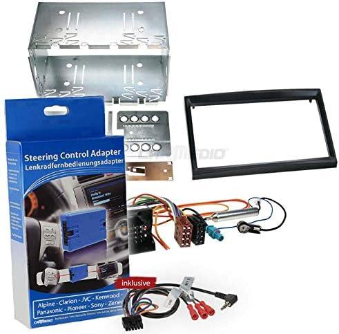 Carmedio Peugeot 307 01 06 2 Din Autoradio Einbauset Elektronik