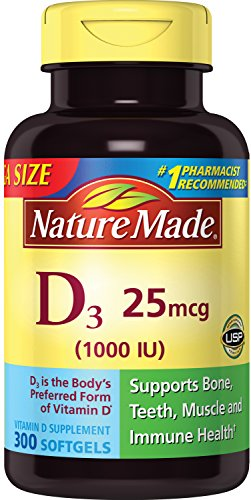 The Best Vitamin D Nature Made 1000 650 Count