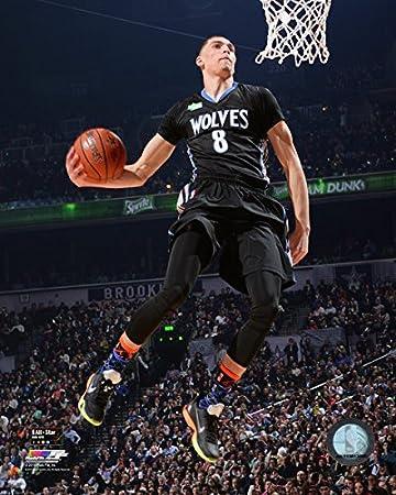 Amazon Com Zach Lavine Minnesota Timberwolves Nba Slam Dunk