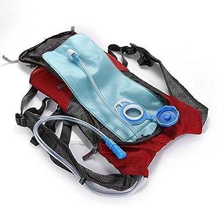 Color : Azul Mochila Mochila de Carga Solar for Montar al Aire Libre Mochila de Senderismo con Carga de Panel Solar para Escolar Trabajo Viajes