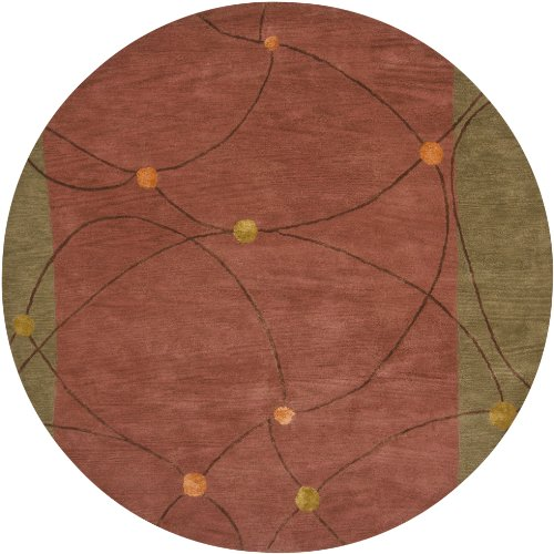 Chandra Lost Link LOS1812-79RD 7-Feet 9-Inch Round Area Rug (Chandra Lost Link)