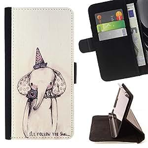 For LG G2 D800 Case , Papel Dibujo fiesta de cumpleaños- la tarjeta de Crédito Slots PU Funda de cuero Monedero caso cubierta de piel