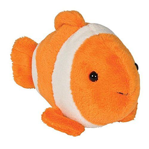 WEEZ Clown Fish Bean Filled Plush Stuffed Animal