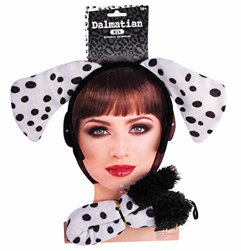 Dalmatian Fireman Dog (Forum Novelties 76846 Dog Ears and Tail Set, Dalmatian)