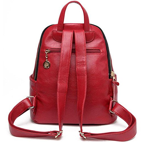 red cm handbag Travel backpack amp;F 30 and 34 package 16 Y Shoulder leisure Bags Student q6vXwFxY
