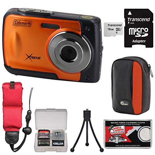 Coleman Xtreme C20WP Shock & Waterproof HD Digital Camera  w