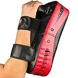 Flexzion Kicking Strike Shield - Curved Pad Boxing