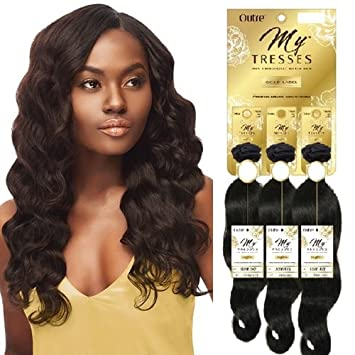 100% HUMAN HAIR MYTRESSES GOLD LABEL , OCEAN BODY , 1 PCK SOLUTION (3