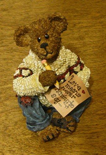 (Boyds Bears Resin Oliver Wendell Love Letters Romance Bearstone - Resin 3.00)