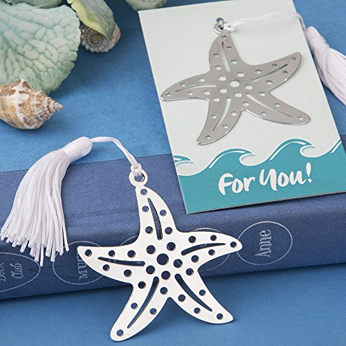 SALE - FASHIONCRAFT Book Lovers Collection Starfish Bookmarks Beach Themed Favours ()