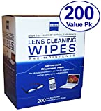 Zeiss Pre-Moistened Lens Cloths Wipes 200c, Health Care Stuffs