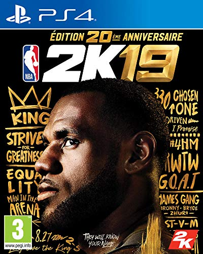 NBA 2K19 20th Anniversary Edition - PS4 (Best Basketball Game Ps4)