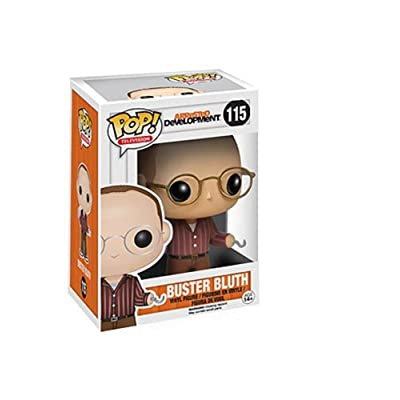 Funko POP Television: Arrested Development Buster Bluth Vinyl Bobble Head: Funko Pop! Television:: Toys & Games