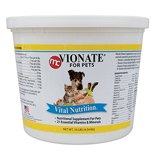 Vionate Nutritional Supplement For Multiple Small Animals - 10 pounds by Gimborn