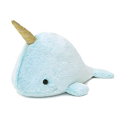 "GUND Nori Narwhal Stuffed Plush Whale, 12"": Toys & Games"