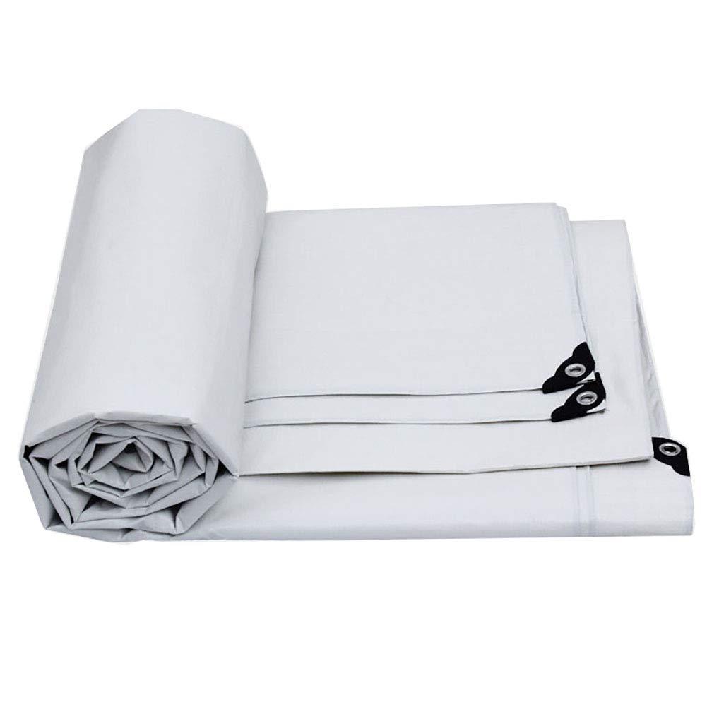 JINSH Außenzelt Wasserdichte Plane Hochleistungs-perforierte Plane Outdoor-Plane wasserdichtes Tuch (Farbe   Weiß, Größe   2×3m) B07PWLRKHN Zeltplanen Starker Wert