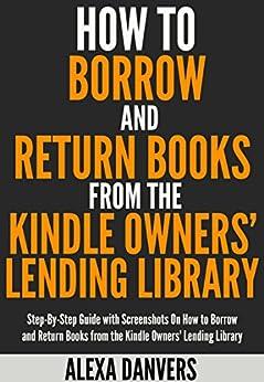 Amazon prime lending library return book
