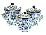 Polish Pottery Ballina Large Canister Set