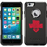 Arkansas State - Red Wolves Flat design on Black OtterBox Commuter Series Case for iPhone 6 Plus and iPhone 6s Plus