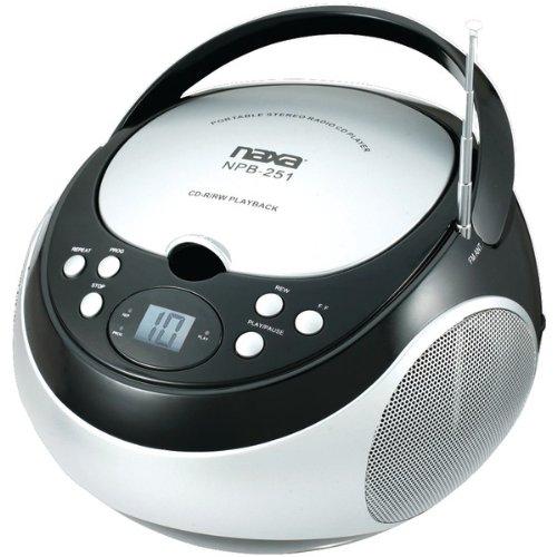 NAXA - CD/FM PLYR PB251 BLK