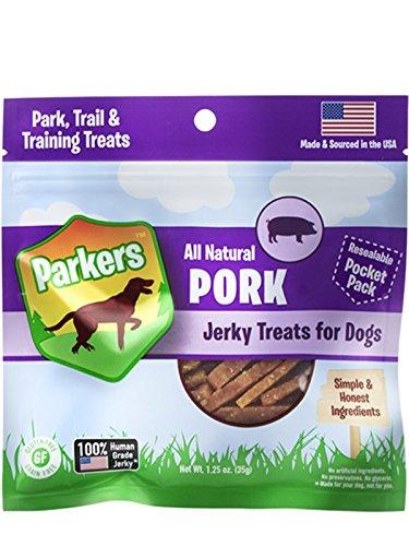 Presidio Natural Pet Company Parkers Jerky Pork Recipe, 1.25 Oz