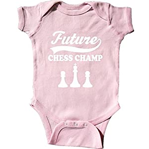 Inktastic Unisex Baby Future Chess Champ Game Champion Infant Creeper