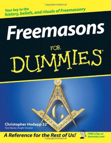 Freemasons For Dummies - Jd Codes Discount