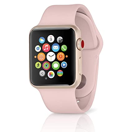 Amazon.com: Apple Watch Series 3 Aluminum case Sport 38mm ...