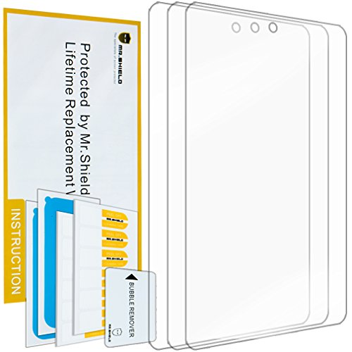 Mr Shield for LG G PAD F7.0 (Sprint Only) Premium Clear Screen Protector [3-Pack] with Lifetime Replacement - Screen V410 Protector Tablet Lg