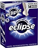 Eclipse Winterfrost Sugarfree Chewing Gum Pantry Box, (14 packs)
