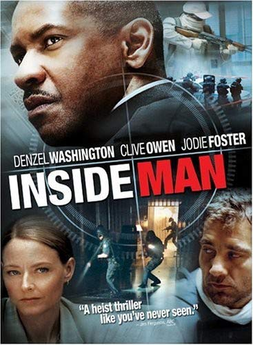 Inside Man (Widescreen) (Bilingual) Denzel Washington Clive Owen Jodie Foster Christopher Plummer