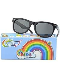 Soft Rubber Kids Polarized Sunglasses for Children Age...