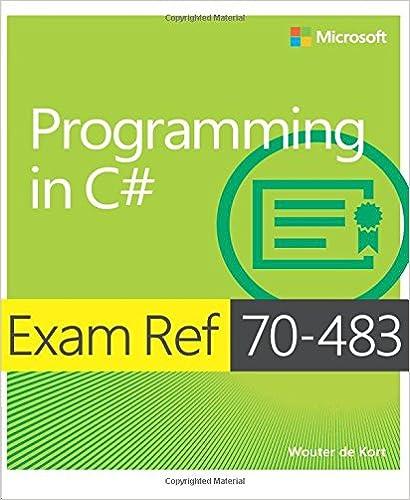 gratulationskort textförslag Exam Ref 70 483 Programming in C# (MCSD): Wouter de Kort  gratulationskort textförslag