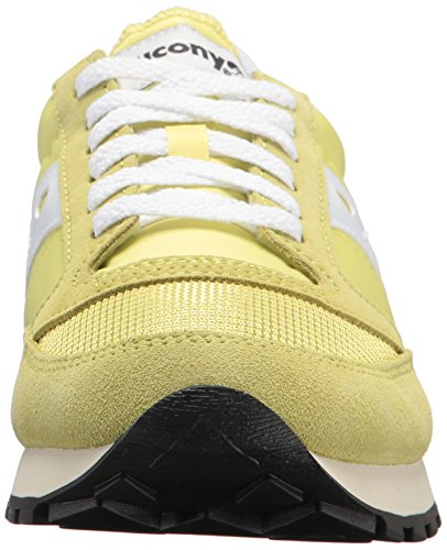 Saucony Yellow White 24 Baskets Original Jazz Vintage Jaune Femme B7B4PwqA