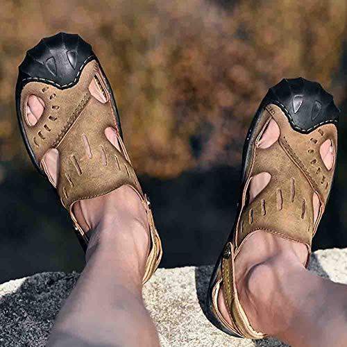 Comodo Pelle Ortopedico La Comfort Per Per In Baotou Sandali Da Uomo Scarpa Sconosciuto Khaki 41 Scarpone Spiaggia xAFwYqgTEf