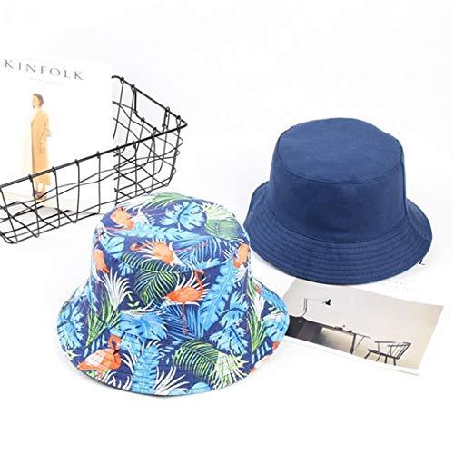 ANTIUV&SHACA Flamingo Animal Print Bucket Hat Fisherman Hat Outdoor Travel Hat Sun Cap Hats Unisex 274 4 -
