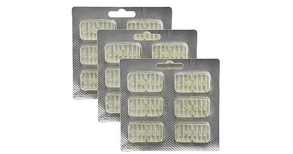 Amazon.com: SPARES2GO Ambientador Perfume Tablet Sticks para ...